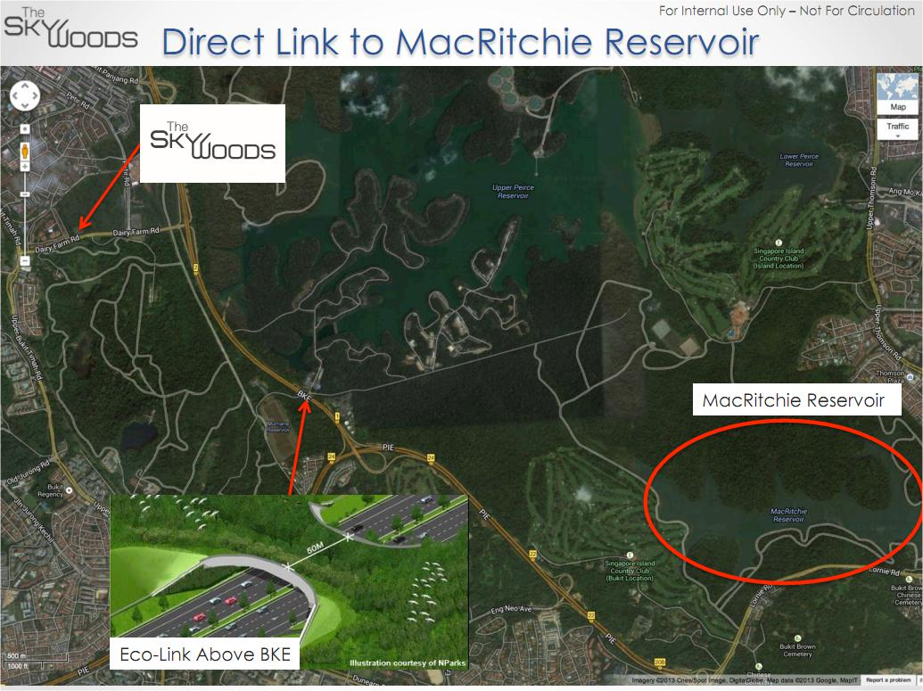 The Skywoods direct link to macritchie